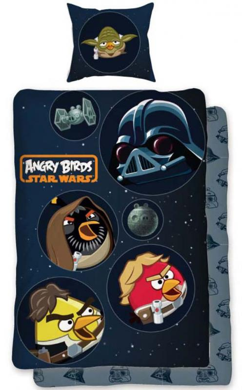 Angry Birds Childrens Duvet Set, Angry Birds Star Wars Full Size Bedding