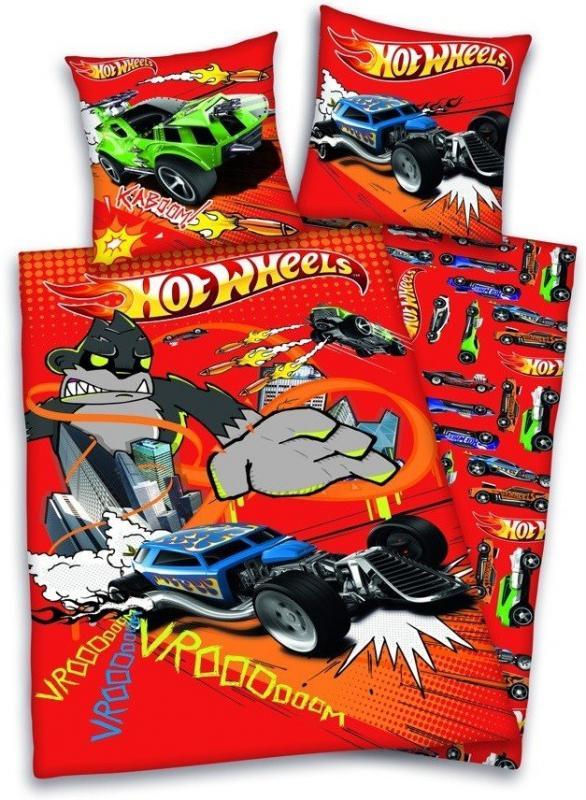 Hotwheels Childrens Duvet Set Benemi Ltd