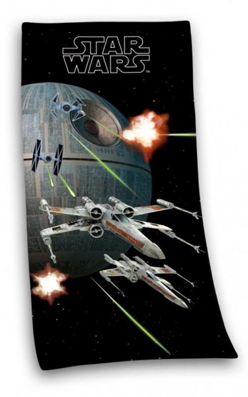 Starwars bath towel