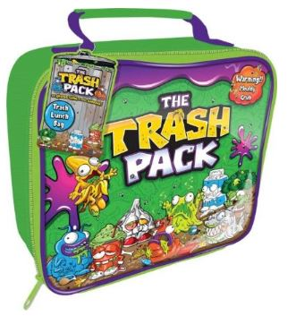 Trash Pack lunch box